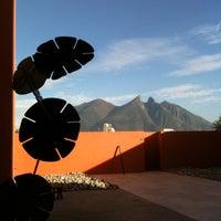 Photo taken at Museo de Arte Contemporáneo de Monterrey (MARCO) by Claudia R. on 12/29/2011