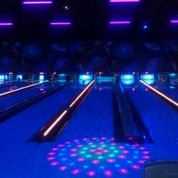 Photo taken at Premiere Bowling & Entertainment by Sarah B. on 2/26/2012