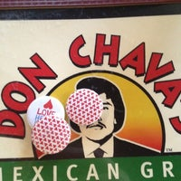 Photo taken at Don Chava's Mexican Grill by Adam M. on 6/15/2012