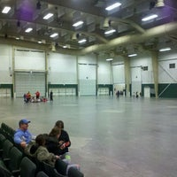 Photo taken at Buffalo County Fairgrounds by Kenny O. on 1/27/2012