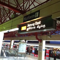 Photo taken at Jurong East MRT Interchange (NS1/EW24) by arvin on 10/10/2011