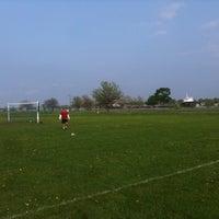 Photo taken at Belle Isle Athletic Field by Bill B. on 5/19/2011