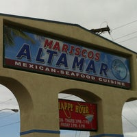 Photo taken at Mariscos Altamar by Matthew A. on 3/9/2012