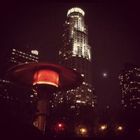 Photo taken at The Biergarten at The Standard, Downtown LA by Chris C. on 11/11/2011