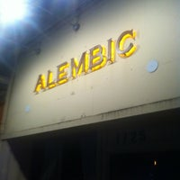 Photo taken at The Alembic by Ron K. on 2/18/2012