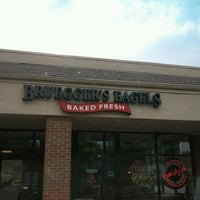 Photo taken at Bruegger's Bagels by Gene R. on 9/4/2011