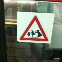 Photo taken at Metro De Ferrari (M1) by Stefano C. on 7/27/2011