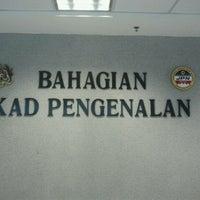 Photo taken at Jabatan Pendaftaran Negara (JPN) by Muhaimy Y. on 1/27/2012