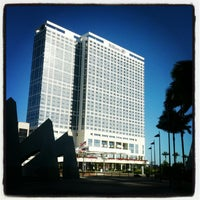 Photo taken at Hilton San Diego Bayfront by Adrian K. on 6/27/2012