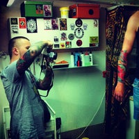 Photo taken at Bang Bang Custom Tattoo Shop by Taras U. on 4/30/2012