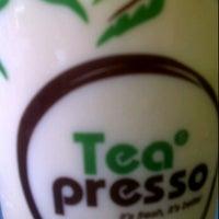 Photo taken at Teapresso by Michelle T. on 1/19/2012