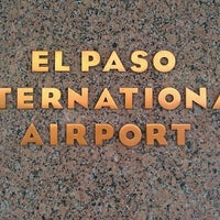 Photo taken at El Paso International Airport (ELP) by Chris B. on 4/10/2012