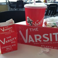 Photo taken at The Varsity by Monica B. on 5/5/2011