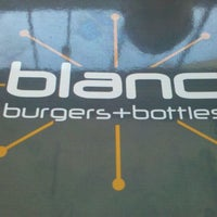 Photo taken at Blanc Burgers + Bottles by Dan B. on 10/27/2011