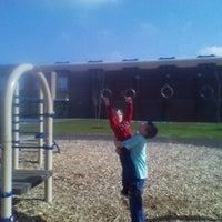 Photo taken at Hough Elementary by Jennifer L. on 3/4/2012