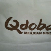 Photo taken at Qdoba Mexican Grill by Mia S. on 2/10/2012