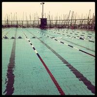 Photo taken at Gordon Swimming Pool by Metar A. on 2/7/2012