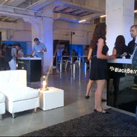 Photo taken at BlackBerry PlayBook Experience - New York City by Sean C. on 7/12/2012