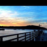 Photo taken at Bar Harbor Pier by Tinu A. on 5/1/2012