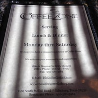 Photo taken at Coffee Zone by Oliver N. on 4/25/2012