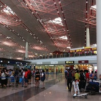 Photo taken at Beijing Capital International Airport (PEK) by Taemin H. on 6/10/2012