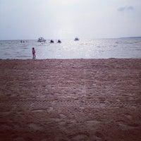 Photo taken at Sylvan Beach NY by Joe M. on 7/6/2012