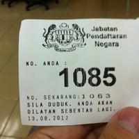 Photo taken at Jabatan Pendaftaran Negara JPN by keith k. on 8/13/2012