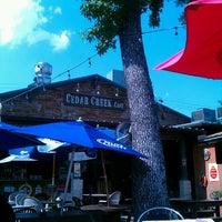 Photo taken at Cedar Creek Café, Bar & Grill by Enrique G. on 5/17/2012