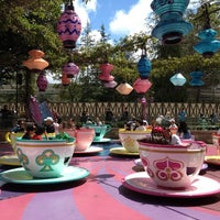 Photo taken at Mad Tea Party by Teresa T. on 4/11/2012