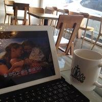 Photo taken at Cafe Jeko by Micky U. on 4/23/2012