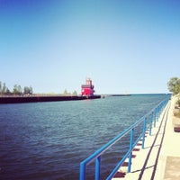Photo taken at Holland State Park by M0RG$ on 8/7/2012