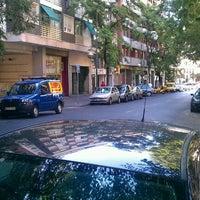Photo taken at Calle Vallehermoso by @PetteLov w. on 8/6/2012