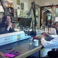 Photo taken at WRFL-FM Studios by lori h. on 4/13/2012