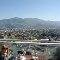 Photo taken at Four Points by Sheraton Panoramahaus Dornbirn by Dan P. on 3/28/2012