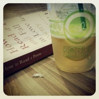 Photo taken at Kozui Green Tea by Brandon M. on 8/13/2012