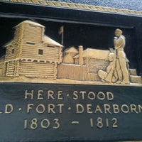 Photo taken at Fort Dearborn by HTEDance on 4/16/2012