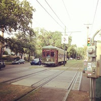 Photo taken at St. Charles Streetcar by 'Andrew K. on 10/12/2013