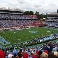 Photo taken at Kenan Memorial Stadium by Bryan A. on 10/27/2012