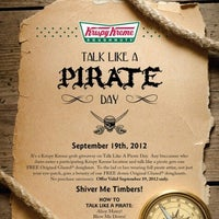 Photo taken at TALK LIKE A PIRATE DAY by Erik W. on 9/19/2012