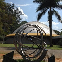 Photo taken at Planetário Professor Aristóteles Orsini by Fhernando R. on 10/31/2012