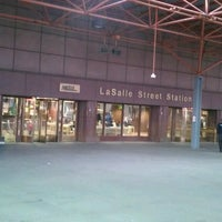 Photo taken at Metra - LaSalle Street by Rick E F. on 5/26/2013