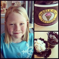 Photo taken at Marble Slab Creamery by Jennifer M. on 2/24/2013