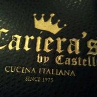Photo taken at Cariera's Cucina Italiana by Frankie G. on 2/25/2013