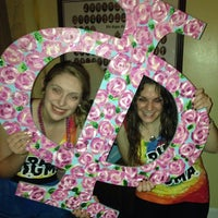 Photo taken at Phi Sigma Sigma by Hannah M. on 1/28/2014