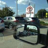 Photo taken at Rice Toyota by Aaron J. on 10/4/2013