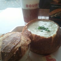 Photo taken at Boudin Bakery Café Embarcadero by Ruby L. on 12/16/2012