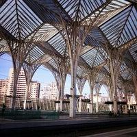 Photo taken at Estação Ferroviária da Gare do Oriente by Joana R. on 2/5/2013