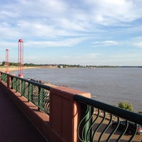 Photo taken at Evansville Riverfront by Mitch A. on 7/25/2013