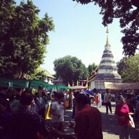 Photo taken at Wat Phan Waen by Anukun H. on 11/1/2014