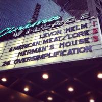 Photo taken at Cinema Village by Nora G. on 4/19/2013